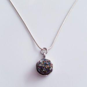 Jewelry - Rainbow Druzzy Necklace